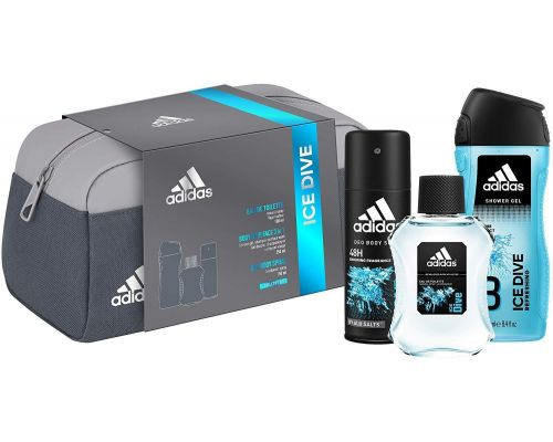 An Adidas Toiletry Box