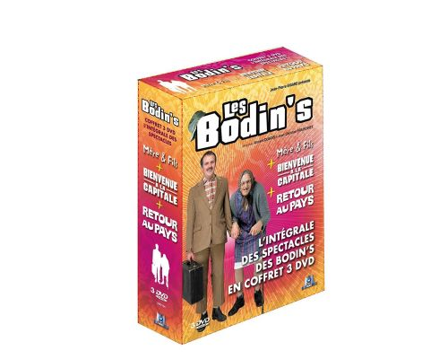 A box set Les Bodin's - The complete shows