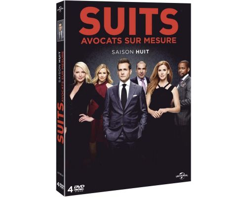Un Coffret DVD Suits - Saison 8