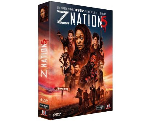Un coffret DVD Z Nation - Saison 5                                                                                                                                                                    ++