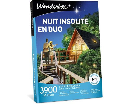 A Wonderbox UNUSUAL NIGHT IN DUO