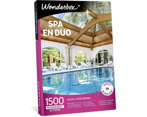 Un Coffret Wonderbox SPA EN DUO