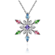 <notranslate>A Snowflake Necklace</notranslate>