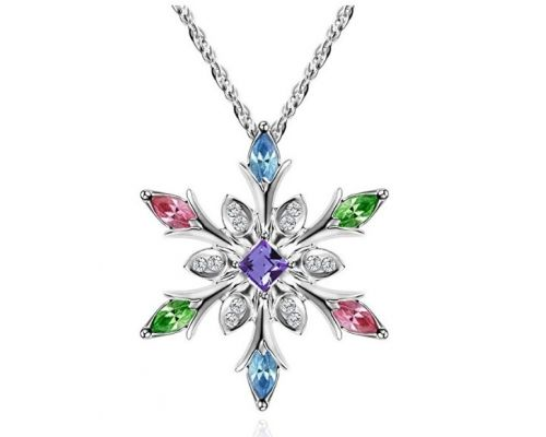 A Snowflake Necklace