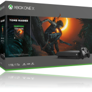 Une Console Xbox One X 1 To avec Shadow of The Tomb Raider