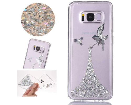 Een Galaxy S8 Glitter Fairy Case