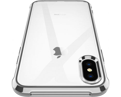 A Silver iPhone X / XS Case