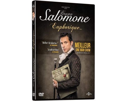 Un DVD Bruno Salomone - Euphorique                                                                                                                                                                    +