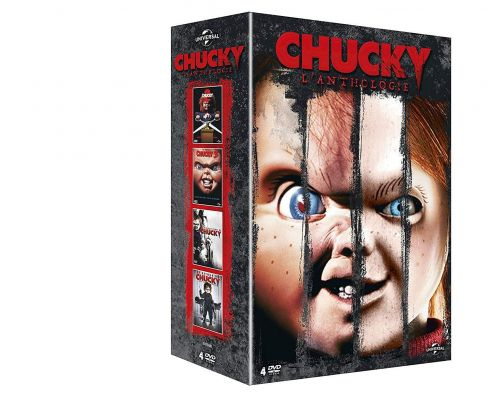Un Coffret DVD Chucky - L'Anthologie