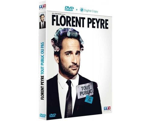 a DVD Florent Peyre All Public Or Not