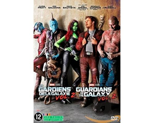 A DVD THE GUARDIANS OF THE GALAXY VOLUME 2