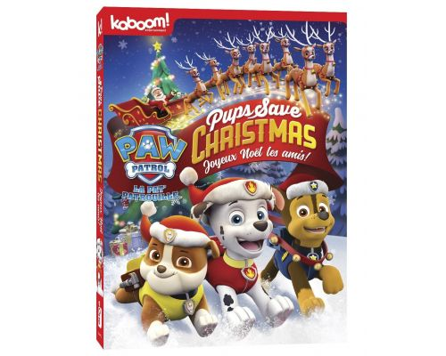 A DVD Paw Patrol: Pups Save Christmas
