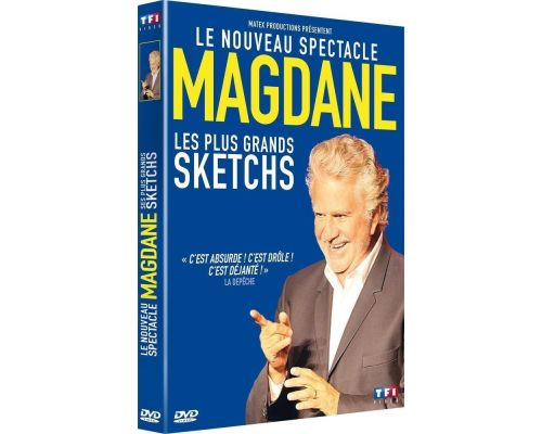 a DVD Roland Magdane The Biggest Sketches