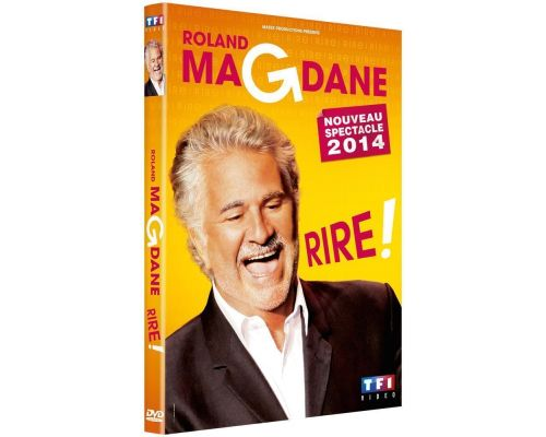a DVD Roland Magdane - Laugh!