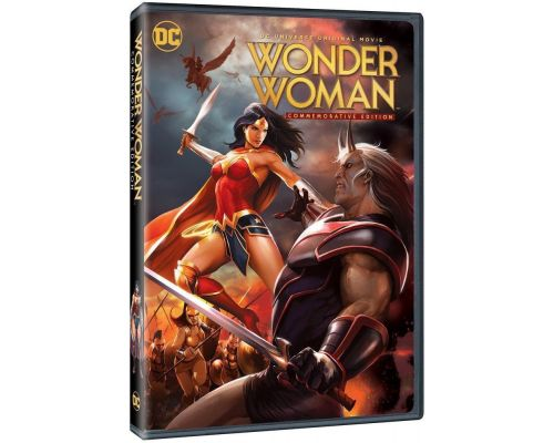 a Wonder Woman DVD