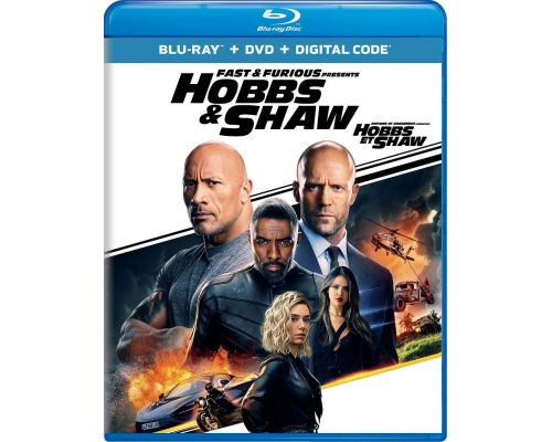 A Fast & Furious Presents: Hobbs & Shaw Blu-ray