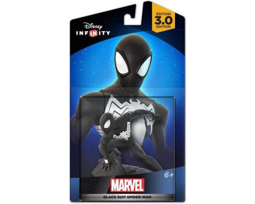 Une Figurine Disney Infinity 3.0 - Marvel Black Suit Spiderman