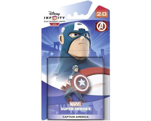 A Disney Infinity 2.0 Marvel: Captain America Figure
