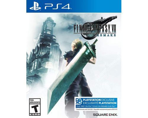 A Final Fantasy Vii Remake PS4 Video Game