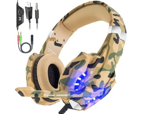 A Gaming Headset Headphones