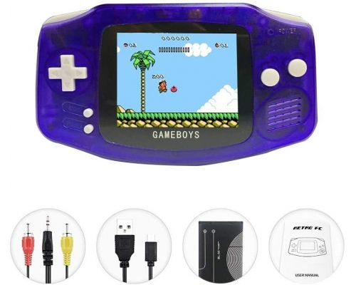 A Handheld Game Console with Built in 400 Games