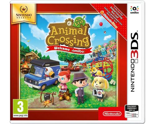 Un Jeu 3DS Animal Crossing New Leaf - Welcome Amiibo