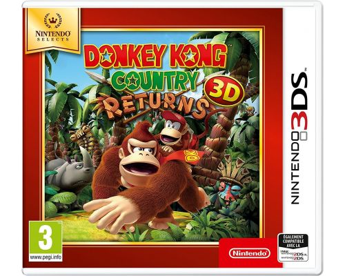 Un Jeu 3DS Donkey Kong Country Returns 3D