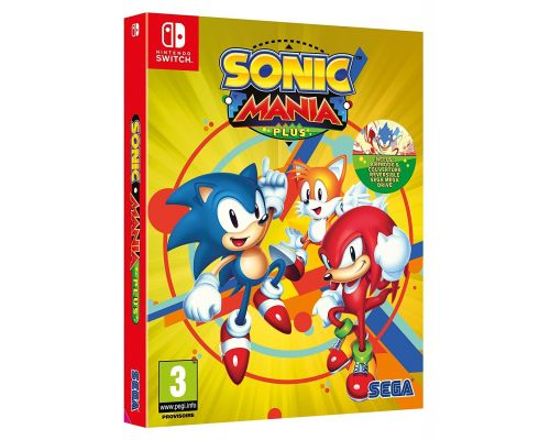 Un Jeu Nintendo Switch Sonic Mania Plus