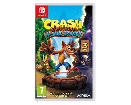 Un Jeu Nintendo Switch Crash Bandicoot N.Sane Trilogy