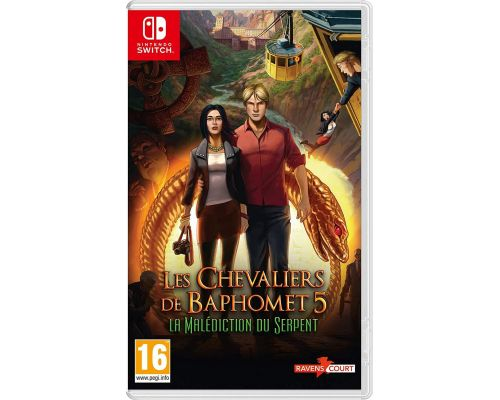 Un Jeu Nintendo Switch Les Chevaliers de Baphomet 5: La Malédiction du Serpent