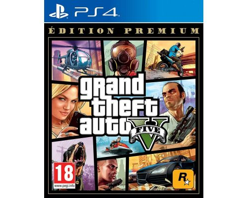 A PS4 GTA V Game - Premium Edition