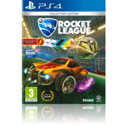 A PS4 Rocket League Game