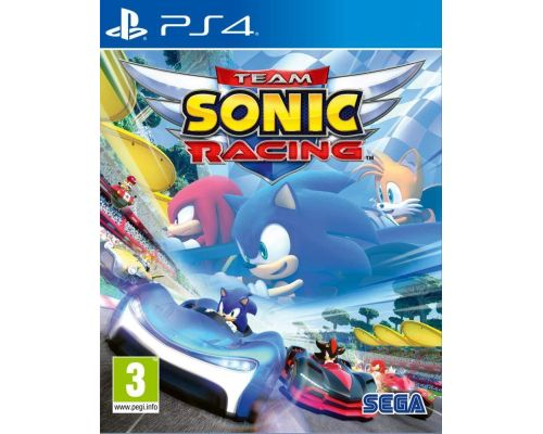 Un Jeu PS4 Team Sonic Racing