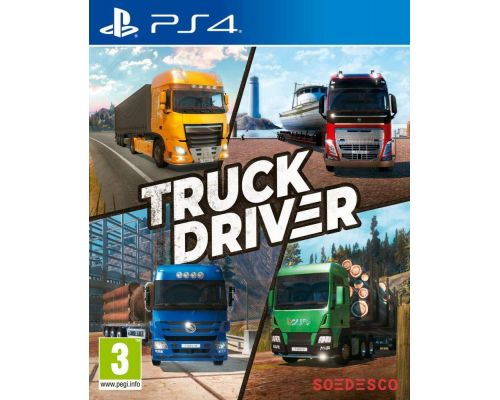 A PS4 Truck Driver Game