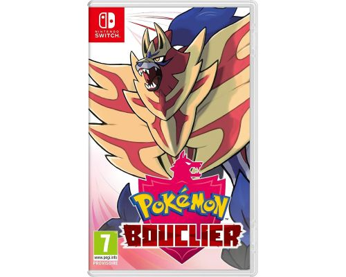 Un Jeu switch Pokémon Bouclier