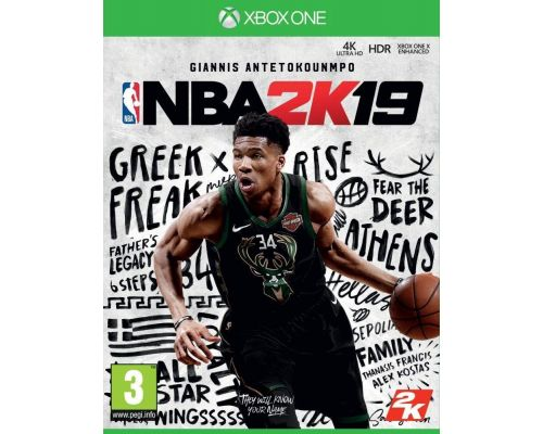 Un Jeu Xbox One NBA 2K19