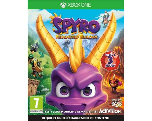 Un Jeu Xbox One Spyro Reignited Trilogy