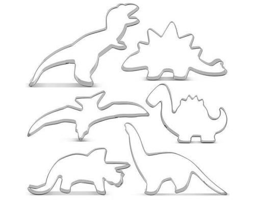 Et Dinosaur Cookie Cutter Kit