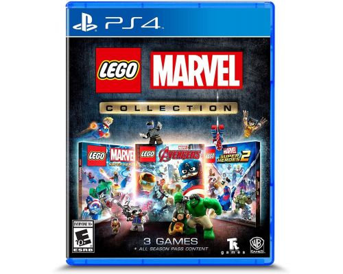 A Lego Marvel Collection for PS4