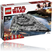 Un LEGO Star Wars First Order Star Destroyer