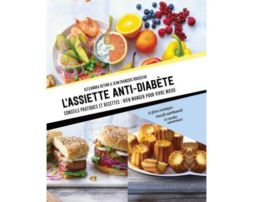 A book The anti-diabetes plate