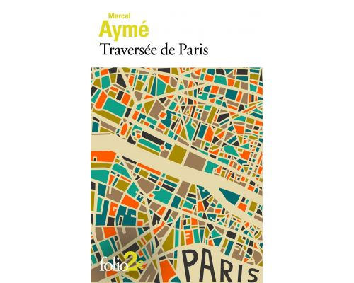 A Book Crossed Paris Pouch Marcel Aymé