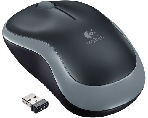 A Logitech Wireless Mouse