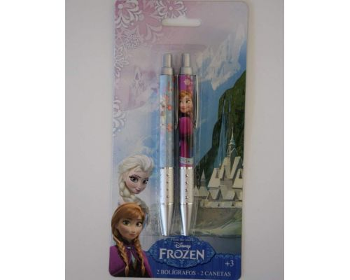 Un Lot de Stylos bille Reine des Neiges