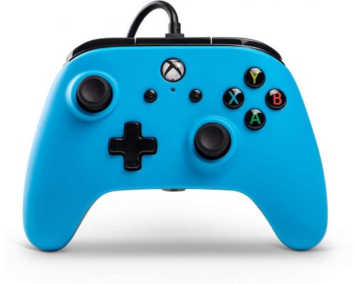 An Xbox One wired controller