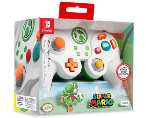Une Manette Yoshi Smash pour Nintendo Switch                                                                                                                        +