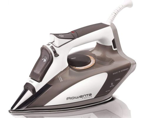 Micro Steam Iron Stainless Steel Soleplate with Auto-Off