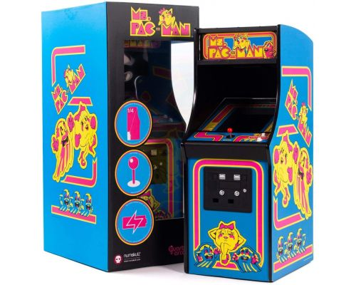 A Mini arcade Ms. PAC-Man