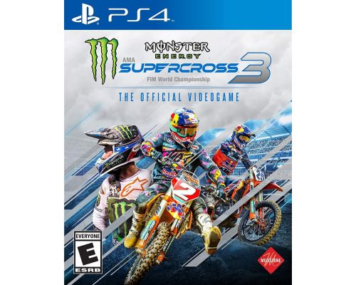 A Monster Energy Supercross PS4 Game