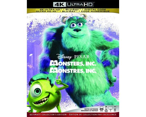 A Monsters Inc. Blu-Ray